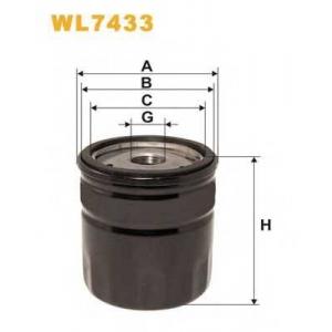 WIX FILTERS WL7433 Фильтр масляный WL7433/OP546/1 (пр-во WIX-Filtron)