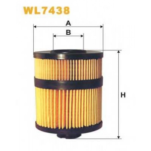 WIXFILTERS WL7438 Фiльтр масляний 684