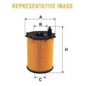 Масляный фильтр wl7439 wix - AUDI A8 (4E_) седан 4.0 TDI quattro