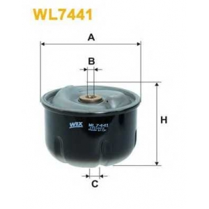 WIX WL7441 Фильтр масляный (OR 744)