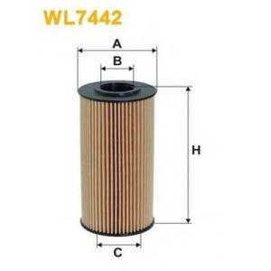 WIX FILTERS WL7442 Фильтр масляный KIA CERATO, CEED, RIO III WL7442/OE674/2 (пр-во WIX-Filtron)