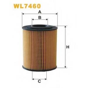 WIXFILTRON WL7460 Фільтр масляний
