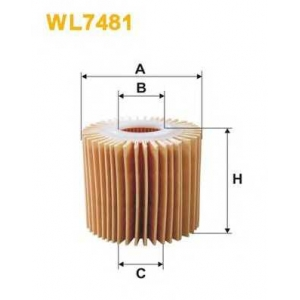 WIXFILTRON WL7481 Фільтр масляний