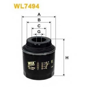 wl7494 wix