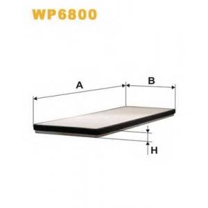 WIX FILTERS WP6800 Фильтр салона WP6800/K1000 (пр-во WIX-Filtron)