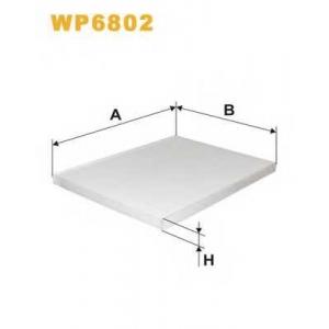 WIX FILTERS WP6802 Фильтр салона OPEL OMEGA B WP6802/K1001 (пр-во WIX-Filtron)