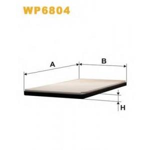 WIX FILTERS WP6804 Фильтр салона OPEL CORSA K1002/WP6804 (пр-во WIX-Filtron)