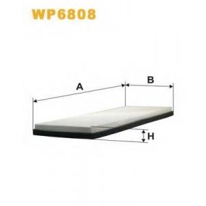 WIX FILTERS WP6808 Фильтр салона AUDI 80, 90 WP6808/K1004 (пр-во WIX-Filtron)