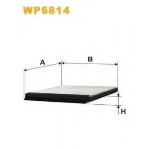 WIX FILTERS WP6814 Фильтр салона WP6814/K1007 (пр-во WIX-Filtron)