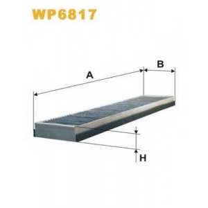 WIX WP6817 Фильтр салона (K 1008A)