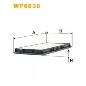 WIX FILTERS WP6830 Фильтр салона BPW E36 WP6830/K1015 (пр-во WIX-Filtron)
