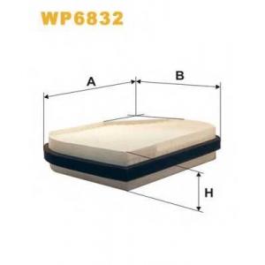 WIX FILTERS WP6832 Фильтр салона MB C, CLK WP6832/K1016 (пр-во WIX-Filtron)