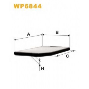 WIX FILTERS WP6844 Фильтр салона RENAULT LAGUNA K1022/WP6844 (пр-во WIX-Filtron)