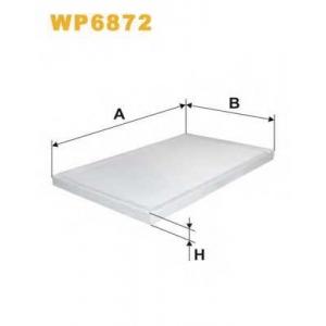 Фильтр, воздух во внутренном пространстве wp6872 wix - AUDI A6 (4A, C4) седан 1.9 TDI