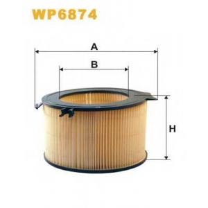 WIX FILTERS WP6874 Фильтр салона VW T4 WP6874/K1037 (пр-во WIX-Filtron)
