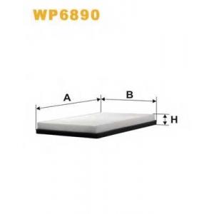 WIX FILTERS WP6890 Фильтр салона WP6890/K1045 (пр-во WIX-Filtron)