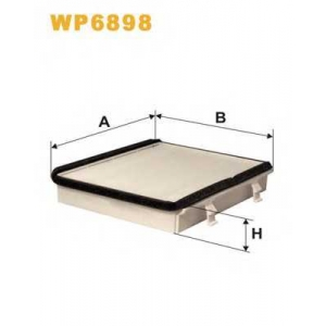 WIX FILTERS WP6898 Фильтр салона WP6898/K1059 (пр-во WIX-Filtron)