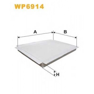 WIX FILTERS WP6914 Фильтр салона K1065/WP6914 (пр-во WIX-Filtron)
