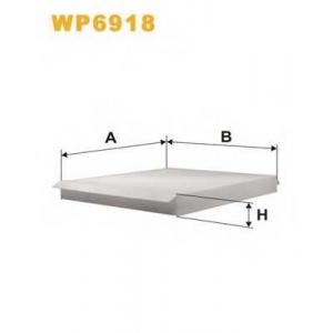 Фильтр, воздух во внутренном пространстве wp6918 wix - OPEL ASTRA G Наклонная задняя часть (F48_, F08_) Наклонная задняя часть 1.2 16V