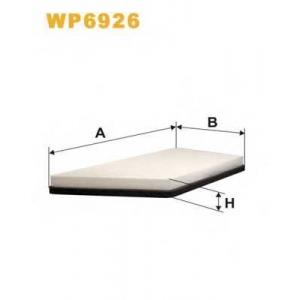 WIX FILTERS WP6926 Фильтр салона PEUGEOT 206 WP6926/K1066 (пр-во WIX-Filtron)