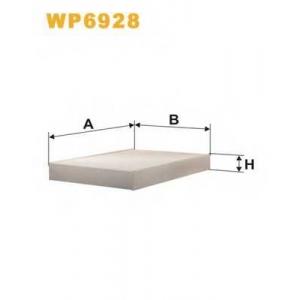 Фильтр, воздух во внутренном пространстве wp6928 wix - RENAULT KANGOO Express (FC0/1_) фургон 1.5 dCi
