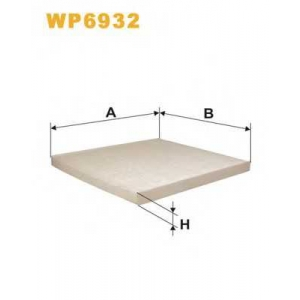 WIXFILTERS WP6932 Фiльтр повiтря 1051
