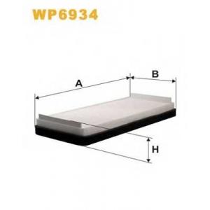 WIX FILTERS WP6934 Фильтр салона MB 210, W220 95-05 (2шт.) (пр-во WIX-Filtron)