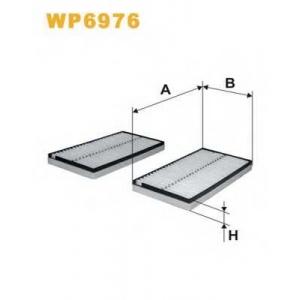 WIX FILTERS WP6976 Фильтр салона BMW(пр-во Wix-Filtron)