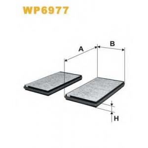 WIX FILTERS WP6977 Фильтр салона угольный (2шт.) (пр-во WIX-Filtron)