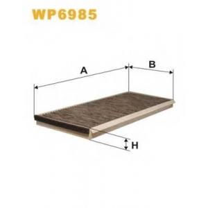 WIX FILTERS WP6985 Фильтр салона WP6985/K1088A угольный (пр-во WIX-Filtron)