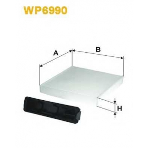 WIX FILTERS WP6990 Фильтр салона NISSAN MICRA K1152/WP6990 (пр-во WIX-Filtron)