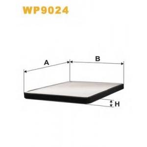 WIX FILTERS WP9024 Фильтр салона WP9024/K1090 (пр-во WIX-Filtron)