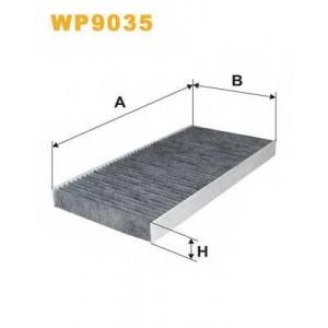 WIX FILTERS WP9035 Фильтр салона OPEL CORSA C WP9035/K1081A угольный (пр-во WIX-Filtron)