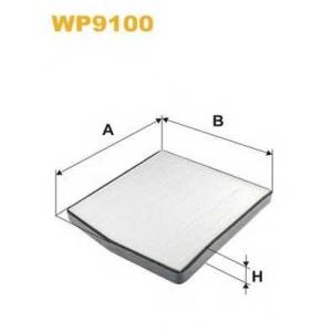 WIX FILTERS WP9100 Фильтр салона VOLVO WP9100/K1126 (пр-во WIX-Filtron)