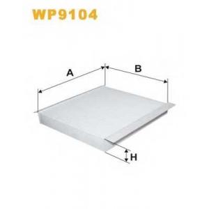 Фильтр, воздух во внутренном пространстве wp9104 wix - NISSAN ALMERA TINO (V10) вэн 1.8