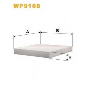 WIX FILTERS WP9108 Фильтр салона HONDA CIVIC WP9108/ K1087 (пр-во WIX-Filtron)