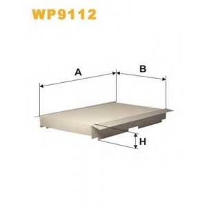 WIX FILTERS WP9112 Фильтр салона PEUGEOT 307 WP9112/K1093 (пр-во WIX-Filtron)