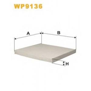 WIX FILTERS WP9136 Фильтр салона WP9136/K1123 (пр-во WIX-Filtron)