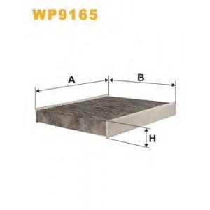 ������, ������ �� ���������� ������������ wp9165 wix - FORD C-MAX II ��� 1.6 Ti