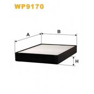 WIX FILTERS WP9170 Фильтр салона K1140/WP9170 (пр-во WIX-Filtron)