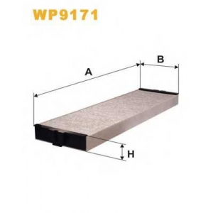 Фильтр, воздух во внутренном пространстве wp9171 wix - PEUGEOT 607 (9D, 9U) седан 3.0 V6 24V