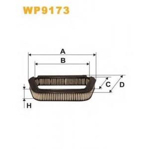 WIX WP9173 Запчасть