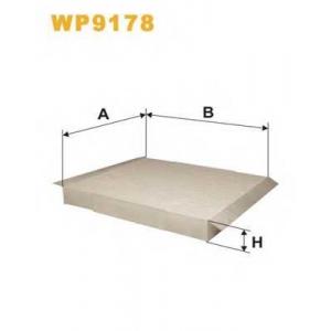 WIX FILTERS WP9178 Фильтр салона WP9178/K1138 (пр-во WIX-Filtron)