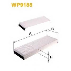 WIXFILTRON WP9188 Фільтр салону