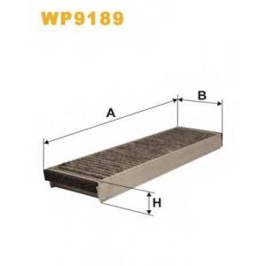 WIX FILTERS WP9189 Фильтр салона AUDI A6 04-11 угольный (2шт.) (пр-во WIX-FILTERS)