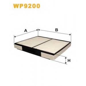 WIX FILTERS WP9200 Фильтр салона WP9200/K1149 (пр-во WIX-Filtron)