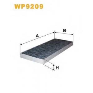 WIXFILTERS WP9209 Фiльтр повiтря 1128A