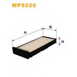 WIX FILTERS WP9220 Фильтр салона MITSUBISHI CARISMA, L200 96-07 (2шт.) (пр-во WIX-FILTERS)