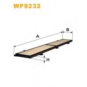 WIX FILTERS WP9232 Фильтр салона WP9232/1169 (пр-во WIX-Filtron)