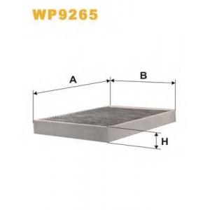 WIX FILTERS WP9265 Фильтр салона WP9265/K1201A-2X угольный (пр-во WIX-Filtron)
